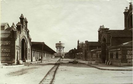 El Matadero de Madrid en 1926