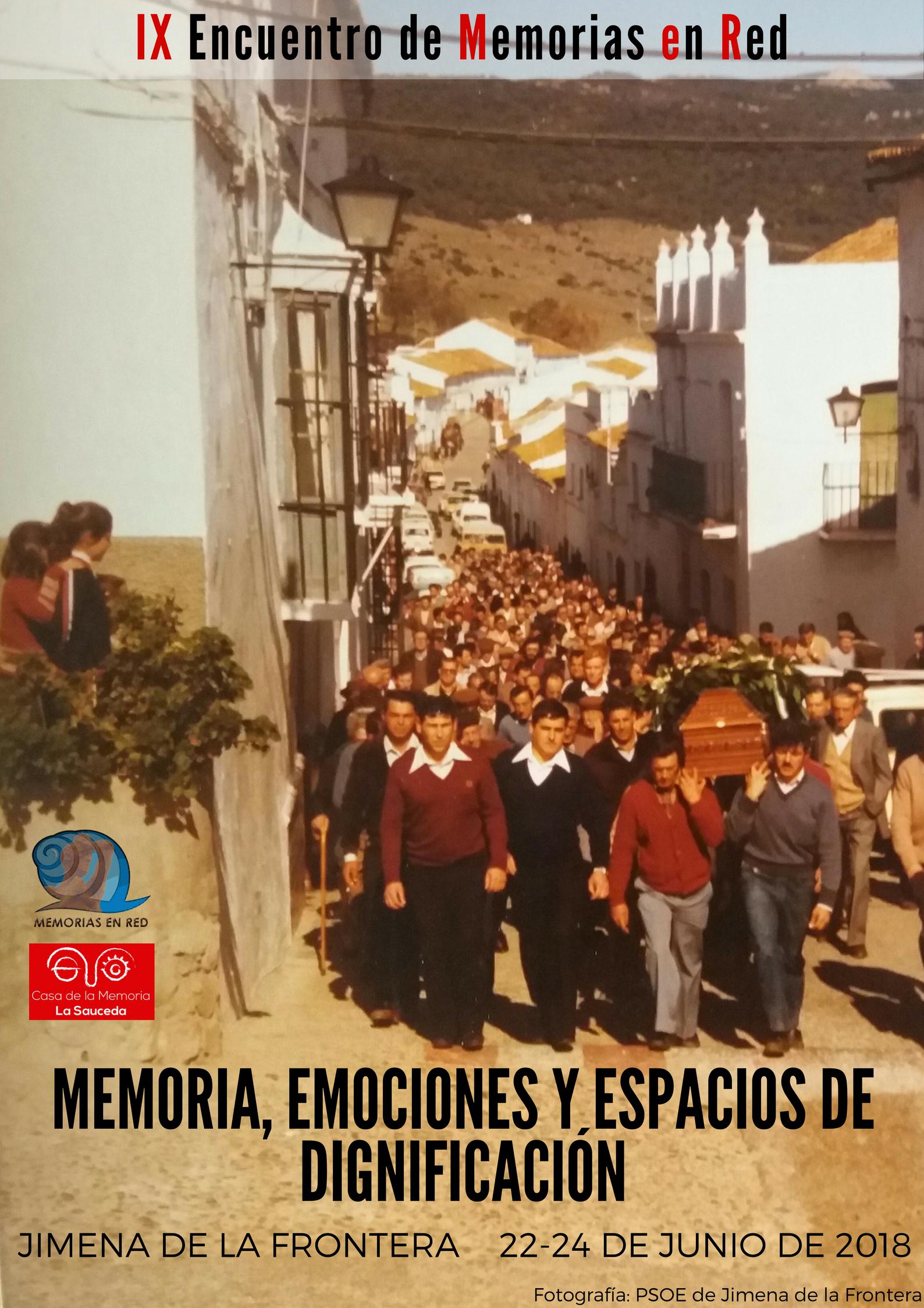 CARTEL FINAL IX Encuentro MeR Memoria, emociones y espacios de dignificación